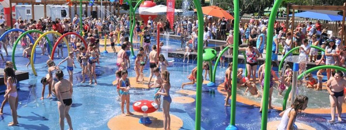 Wodny plac zabaw to początek modernizacji OSiR